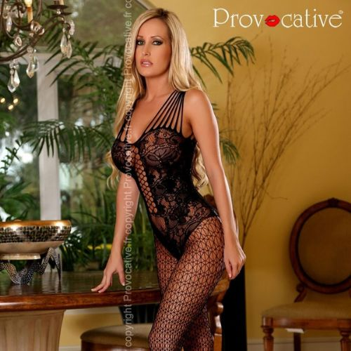 See through bodystocking